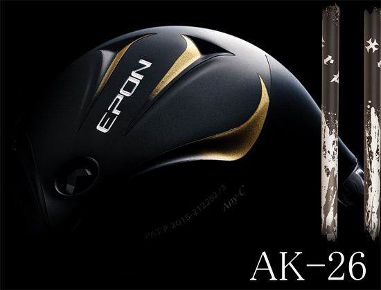 EPON AK-26ドライバーにTRPX XANADUシャフト