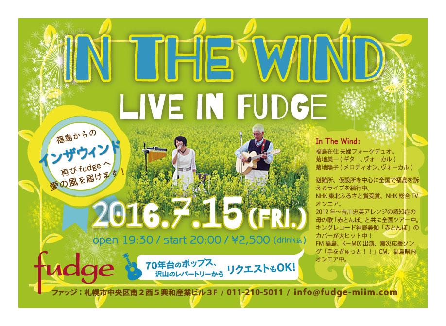 In The Wind  fudge
