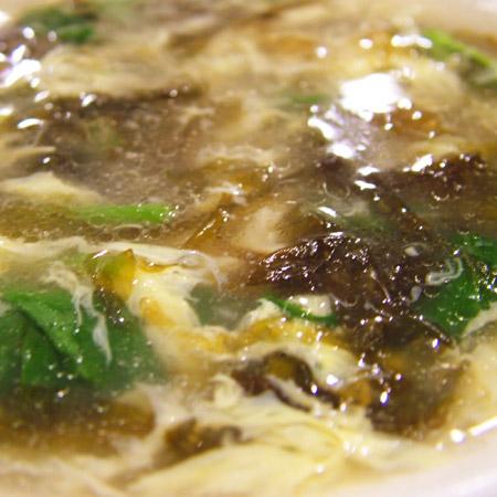 岩のりと玉子のスープ