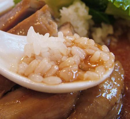 江南風鶏肉の煮込み丼