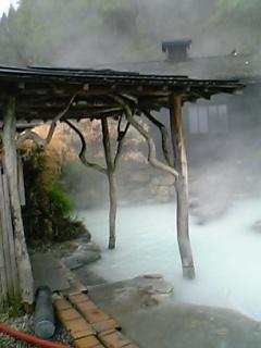 鶴の湯の名物露天風呂