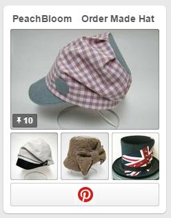オーダー帽子 Pinterest