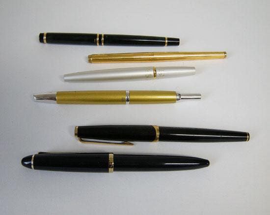 日常に万年筆を