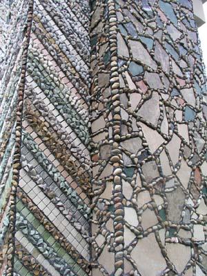 箱根ガラスの森 モニュメントモザイク