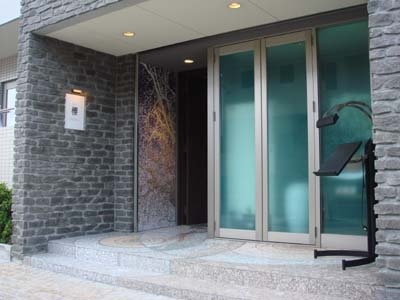 brillant櫻 入口モザイク