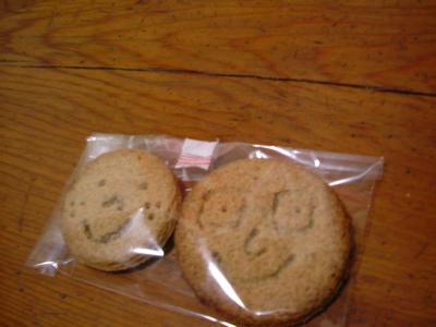 おまけの初花クッキー