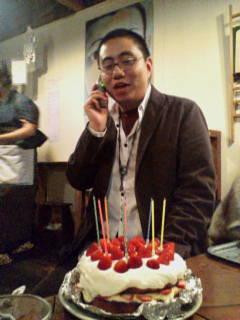 ケーキと初花さん