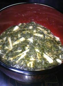 ギバサと長芋のネバネバソース