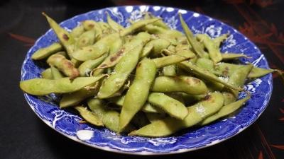 140817焼き枝豆