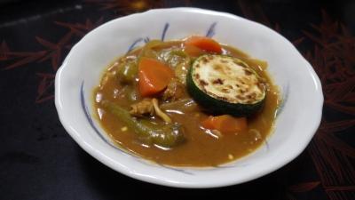 140829夏野菜カレー