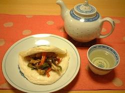 中華風蒸しパン