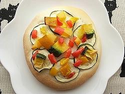 野菜のフラットブレッド