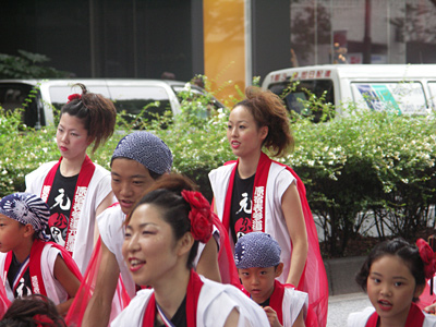 スーパーよさこい2008原宿表参道元氣連
