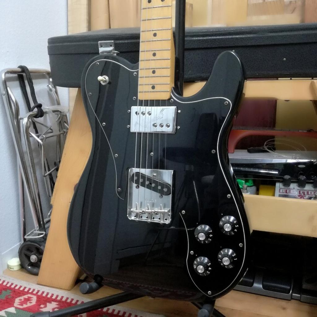 Fender mex TL cstm