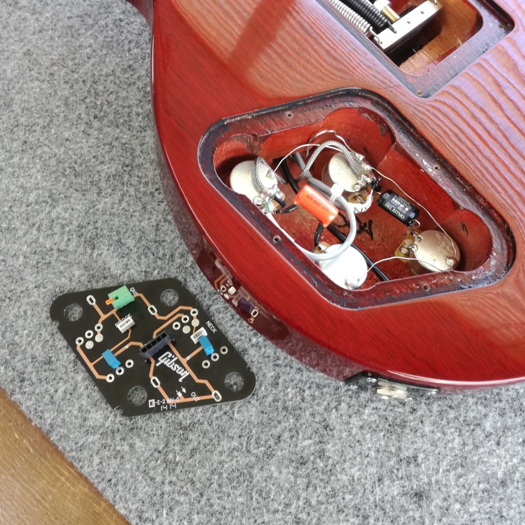 GibsonLP電気系交換02