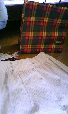 伊勢丹の袋は緑っぽいやつの方がかわいい.JPG