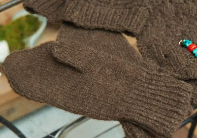 ヤクの手袋