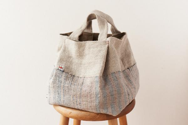 手織りバッグ