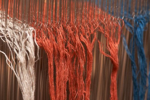 綿麻混紡糸