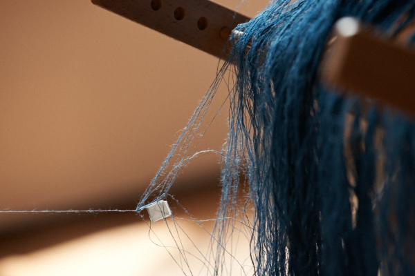麻糸の絡まり