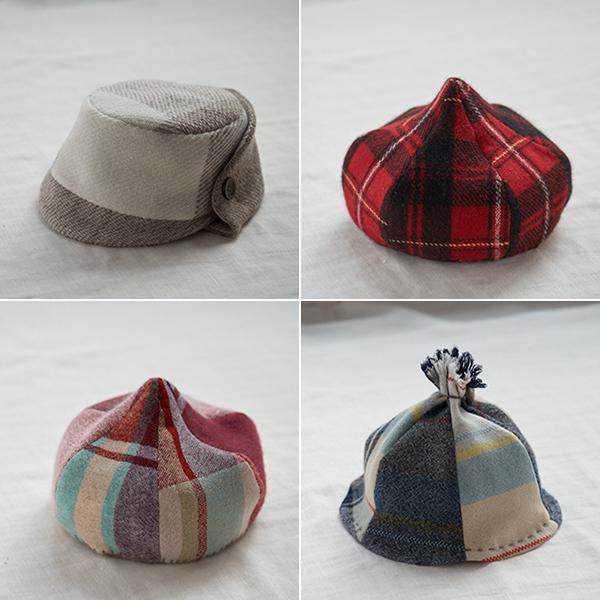 大島さんの帽子