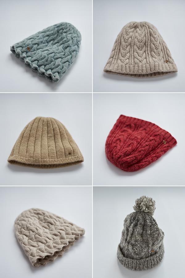 八重畑さんの帽子