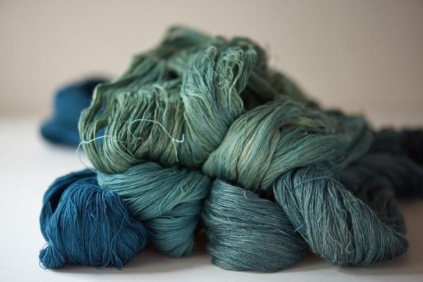 綿と麻の糸