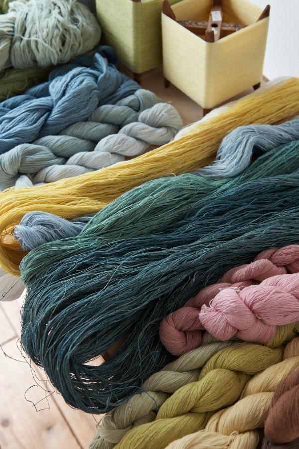 草木染めの糸