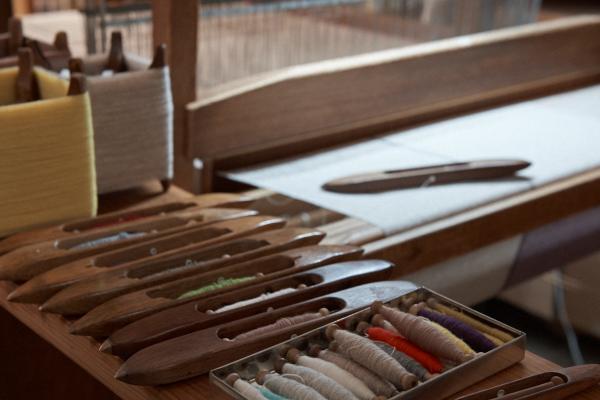 カシミヤ単糸の広幅ストール