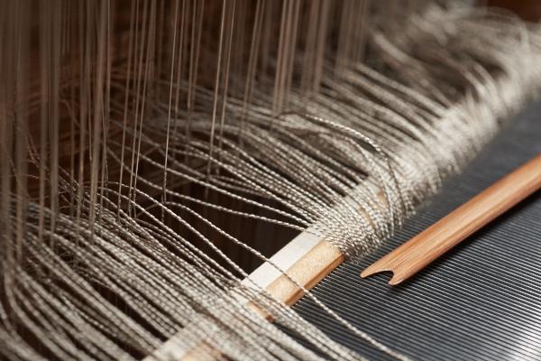絹の機かけ