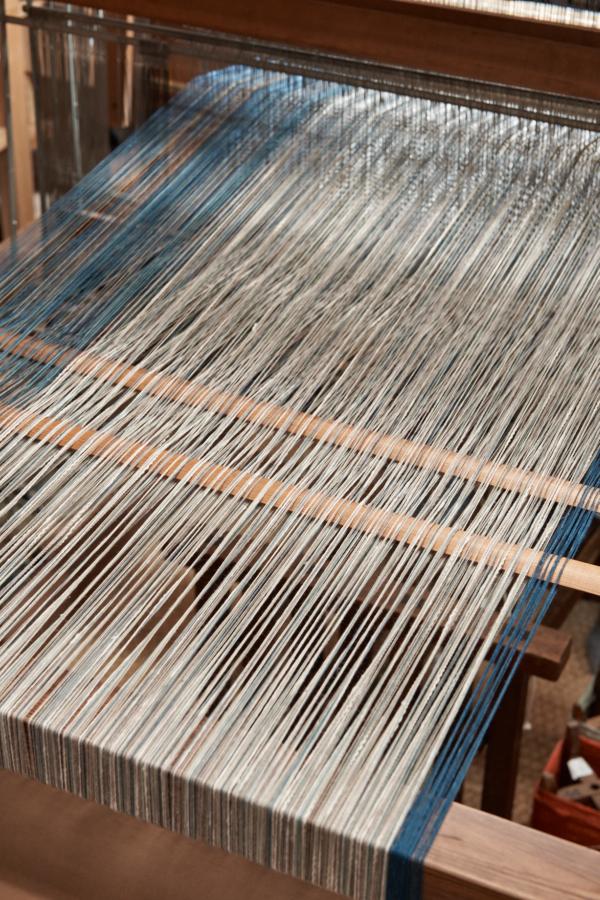 木綿のたて糸
