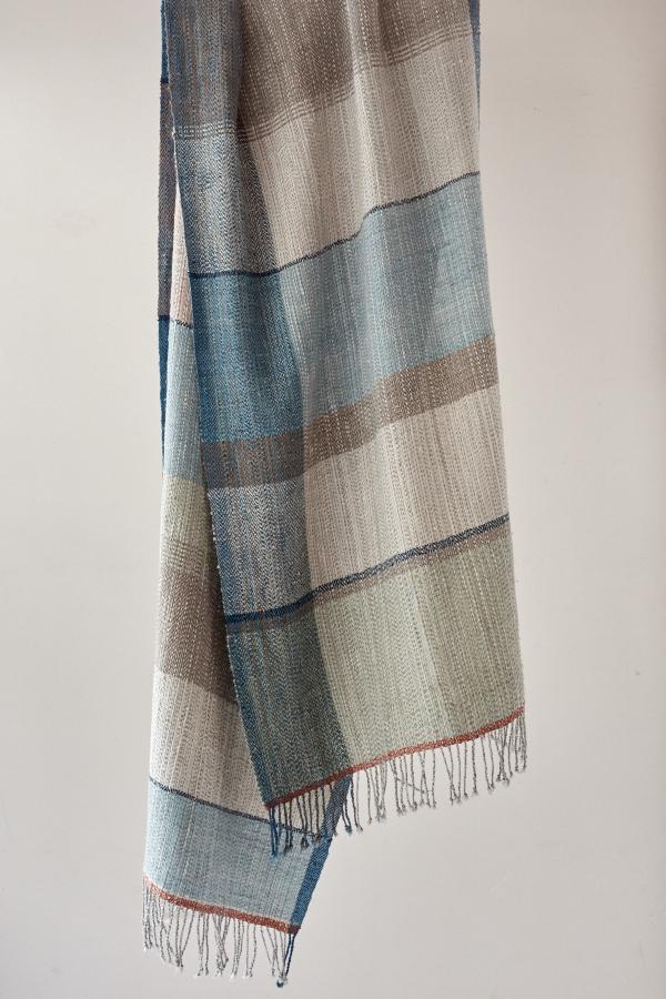 絹と木綿のストール