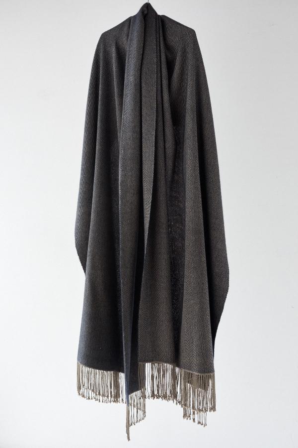 絹とカシミヤのストール