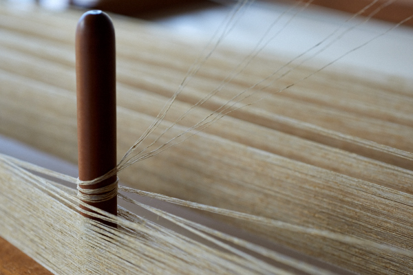 竹と木綿の糸