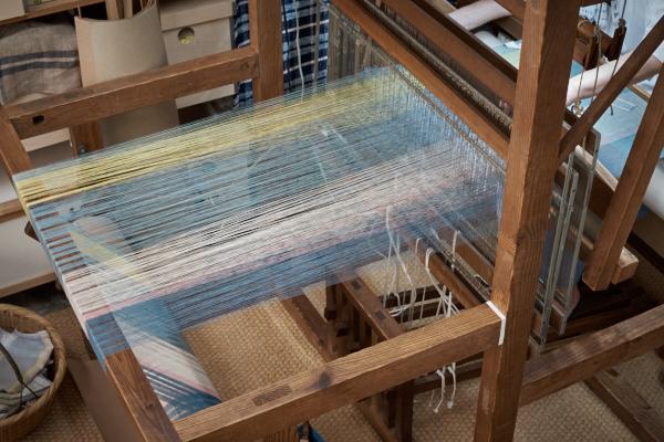 綿麻たて糸