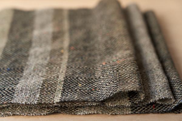 ウールの織糸