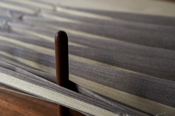 絹のタテ糸