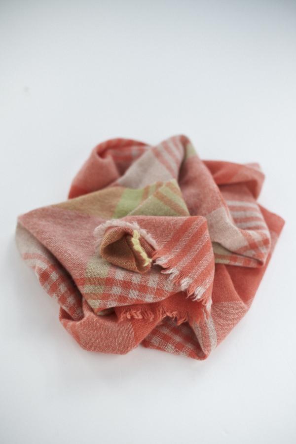 カシミヤ単糸スカーフ