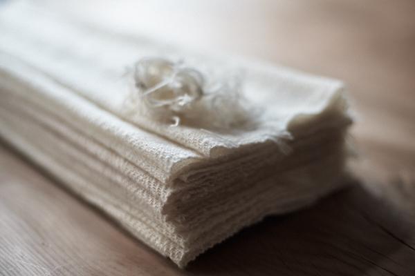 手紡ぎのカシミヤストール