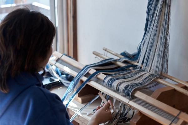 手紡ぎ木綿