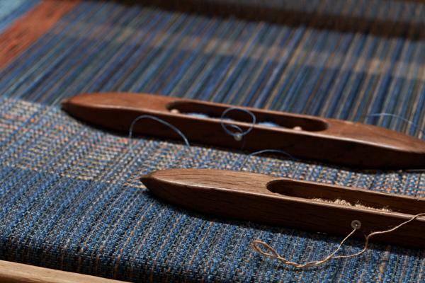 木綿と絹のストール