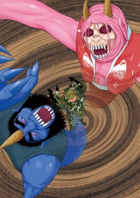 RED&BLUE #4 表紙