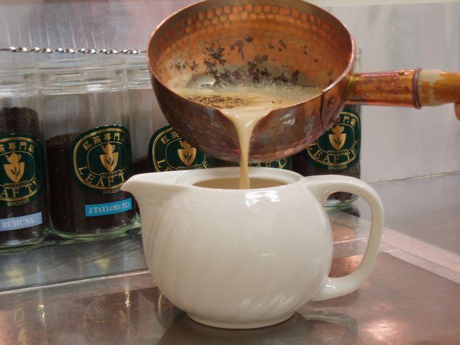 煮込みのミルクティー