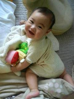我が家の王子・6ヶ月