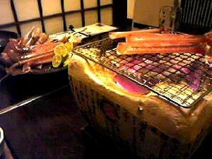 飛騨高山料理カニ