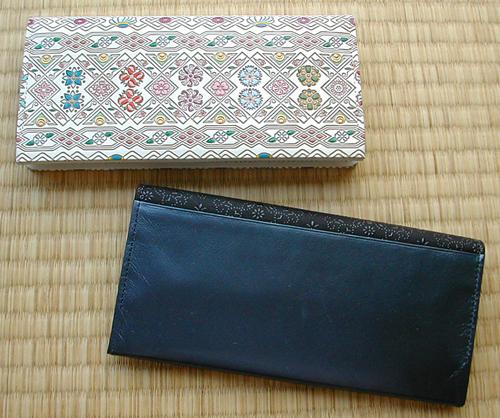 online retailer f3e12 0f4b2 文庫屋大関と古都印伝の長財布 | yueyu life