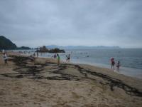 水晶浜海水浴