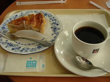 ドトールコーヒーでのひととき