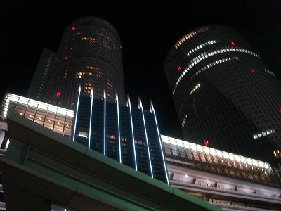名古屋駅前:ツインタワー