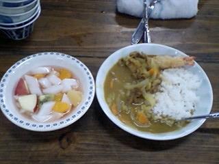 スープ(?)カレー